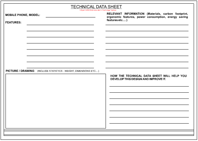 Technical Data Sheet Page - 2