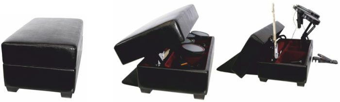 Name Suitable Materials, That Would Be Suitable For The Manufacture The  Gaming Equipment Storage Unit Shown Above. Explain Your Selection.