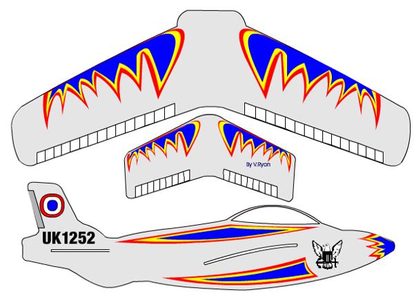 Glider design - Sample 1