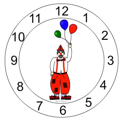 Learning Clock Clock Face Design