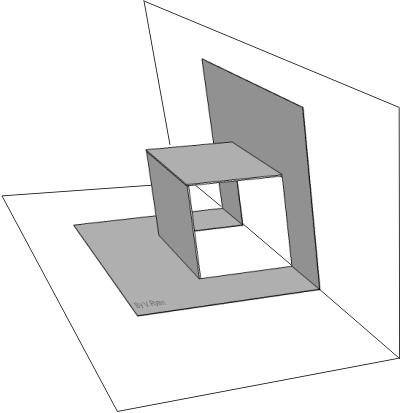 Card folding mechanism