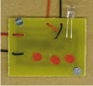 electronic memo board circuit layout rh technologystudent com LED Light Circuit Alternating Relay Flashing Light