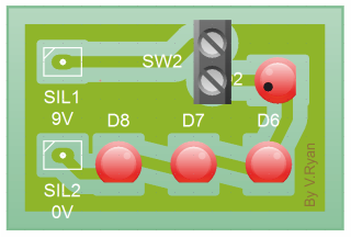 electronic memo board circuit layout rh technologystudent com Alternating Relay Flashing Light Strobe Light Circuit Diagram