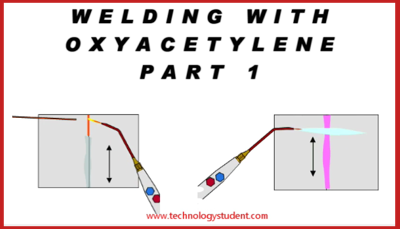 oxyacetylene gas welding is commonly used to permanently join mild steel  a  mixture of oxygen and acetylene, burns as an intense / focussed flame,
