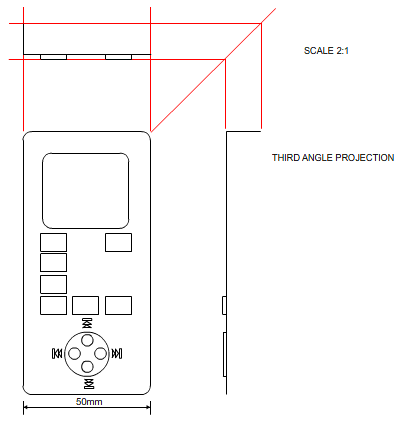 10018 also Multiview Drawing Exercises as well Basic Mechanical Engineering Drawing in addition Third angle in addition Technisch tekenen. on 3rd angle orthographic projection