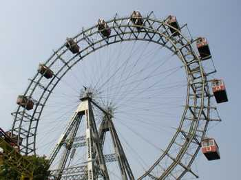 The Ferris Wheel, Vienna.  Sourve: technologystudent.com