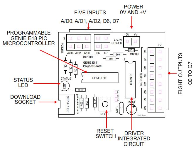 smartphone circuit board diagram