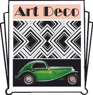Art Deco Revision Cards