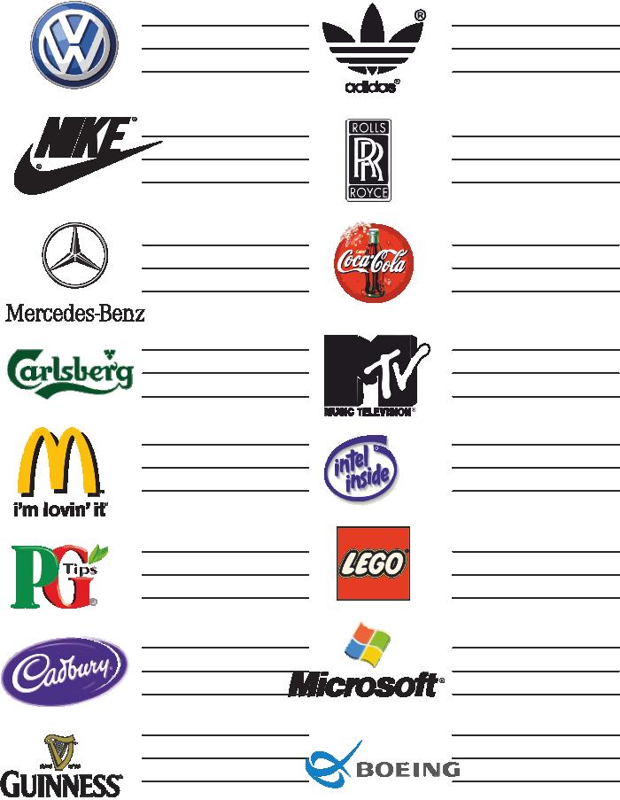 Brand Identity Symbols Logos