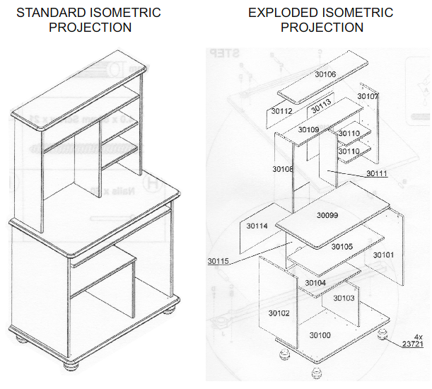 Isometric View Drawing These Are Accurate Drawings