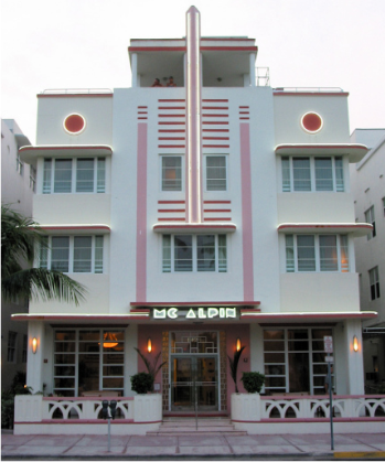 Art Deco Had An Extensive Influence On Architecture In The 1930s And 1940s Many Buildings Coast Of Florida Have Exterior Tending To Be