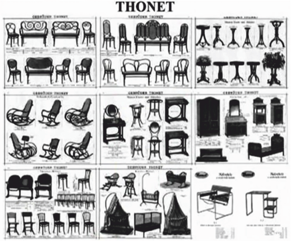 Superior MICHAEL THONET AND THE No 14 CHAIR
